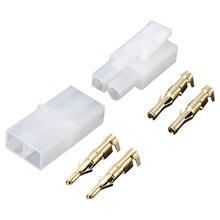 5 x Tamiya набор мужской/женский 2 Pin позолоченный RC R/C 7,2 v батарея Tamiya Мужской Женский Разъем набор позолоченных контактов