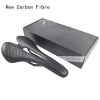 Comego Full Carbon Fiber Bicycle Saddle Cushion Super Fibre Leather Bicycle Accessories Moutain Bike Road Bike