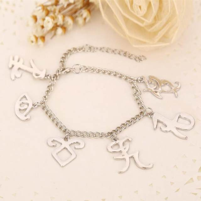 Online Shop Mortal Instruments Charms Bangle City Of Bones Inspired