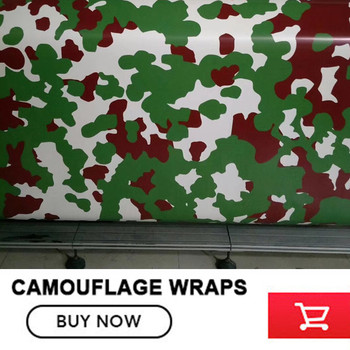 Avvolge Camion Mimetico | 5/10/15/20/25/30mGreen Rosso Camouflage Dell'involucro Della Pellicola Car Styling Sticker Scarponi Da Neve Veicolo Camion Moto Del Vinile Wrapping