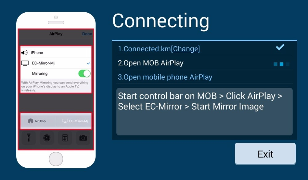 Mirror Link IOS 9.1 Android 5.1 (2)