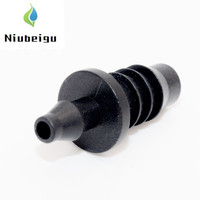 200pcs/pack Reducing Coupling 8/11mm TO 4/7mm Hose Garden Water Connectors Micro Irrigation Direct Connection Hose Fitting U101