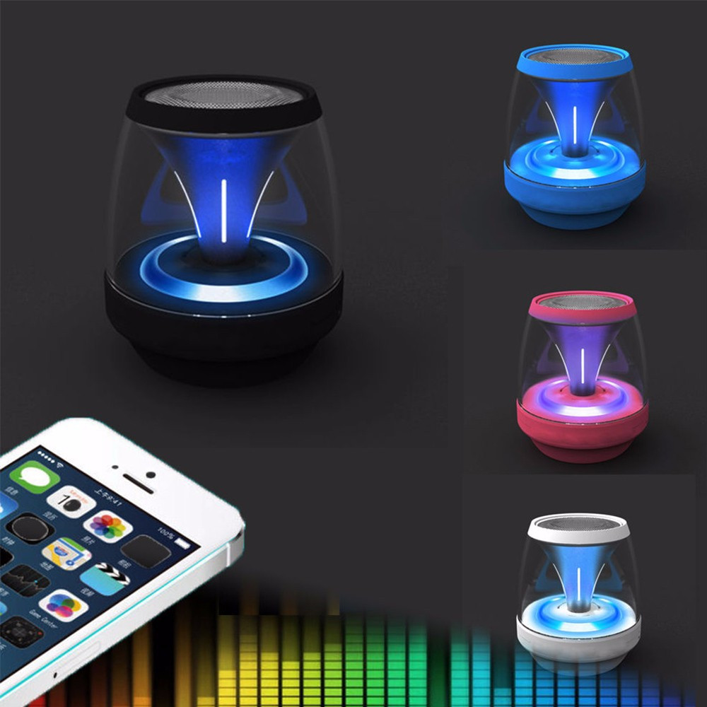 Wireless Mini Stereo Music Speaker Sound Box Loudspeakers NEW Portable Bluetooth Speaker LED MINI Bluetooth Speaker bv200 portable wireless bluetooth speaker outdoor pocket stereo speaker