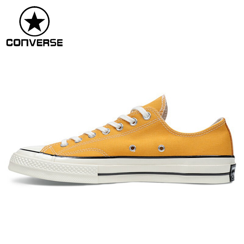 Original New Arrival  Converse Chuck 70 Men's Skateboarding Shoes Low top Canvas Sneakers