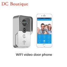 (1 Unidades) WIFI versión de La Noche videoportero inalámbrico MINI cámara de Vídeo Intercom soporte IOS y Andorid APLICACIONES de Control de Smart Home