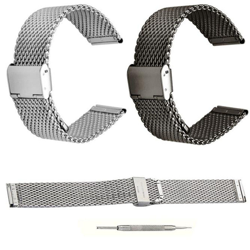 20mm Milanese Quick Release Stainless Steel Watchbands Black&Silver Straps for Garmin VIVOMOVE+1 set Install Tools Correa Reloj laptop battery for msi ge60 ge70 cr650 fr700 fr600 bty s14 li ion 11 1v 49wh new