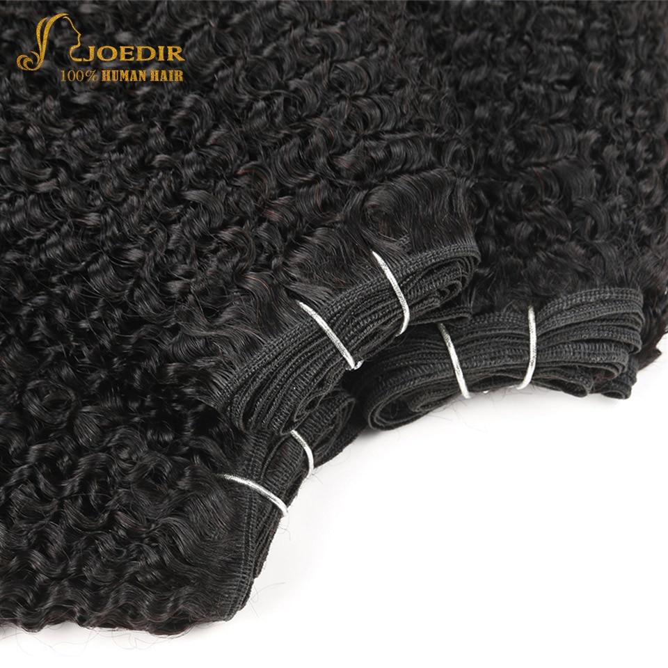 Joedir Hair 3 Bundles Brasilian Jerry Curl Human Hair 100g 1 Pack 8 - Skönhet och hälsa - Foto 3