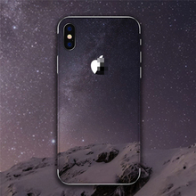 Background Earth Flower Stickers For iPhone X 6 7 8 Back Skin For iPhone 5S SE 6S 7 8 Plus