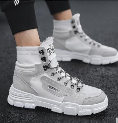Fashion Men Low Flat Ankle 2018 Winter Autumn Work Boots Casual Martin Shoes Men Fashion Male work Boots size 39-44 2