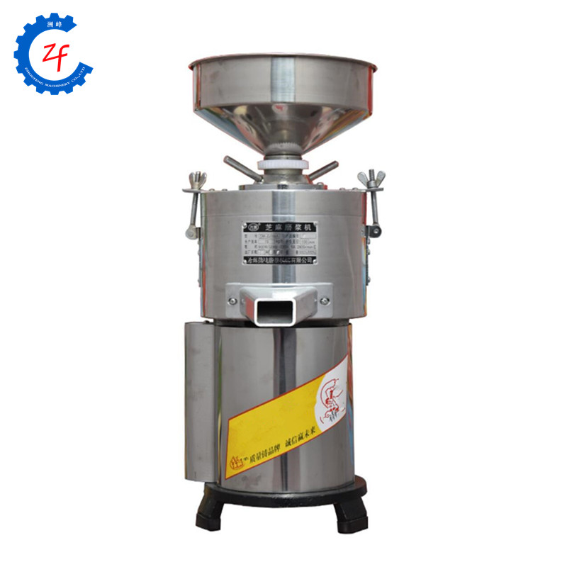 Small peanut sesame paste making machineSmall peanut sesame paste making machine