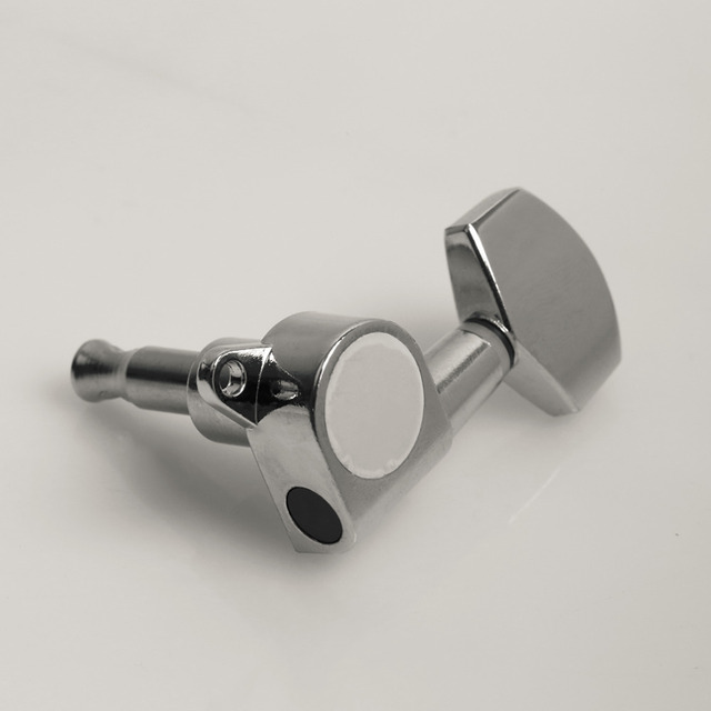 3R 3L Right String Tuning Pegs Tuners Chrome Inline Guitar Machine Head 3 Left 3 Right  Right est free shipping3L