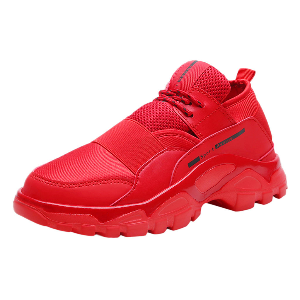 Klv Running Shoes Men 2019 Fashion Sneakers Outdoor Mesh Sports Runing Breathable Men 39 S Shoes High Quality Sneakers Of Men