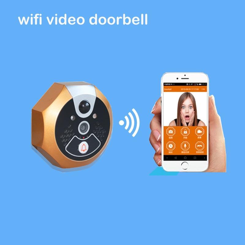 ФОТО Smart wiFi Video Doorbell phone photo shooting function night vision function anti-damage alarm video recording Smart Home