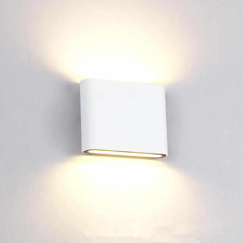 5 шт. 16 w светодиоидная лампа с регулируемой яркостью настенный светильник Cob светодиодные Настенные светильники IP65 в помещении и на открытом воздухе настенный светильник Ac85-265v для Гостиная спальной
