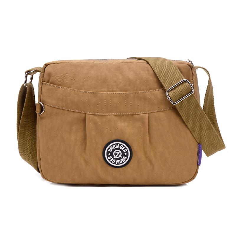 ผู้หญิงกระเป๋า Messenger Crossbody กระเป๋าไนล่อนกันน้ำหญิงกระเป๋าสะพายกระเป๋าออกแบบกระเป๋าถือที่มีคุณภาพสูงสุภาพสตรีราคาดอลลาร์