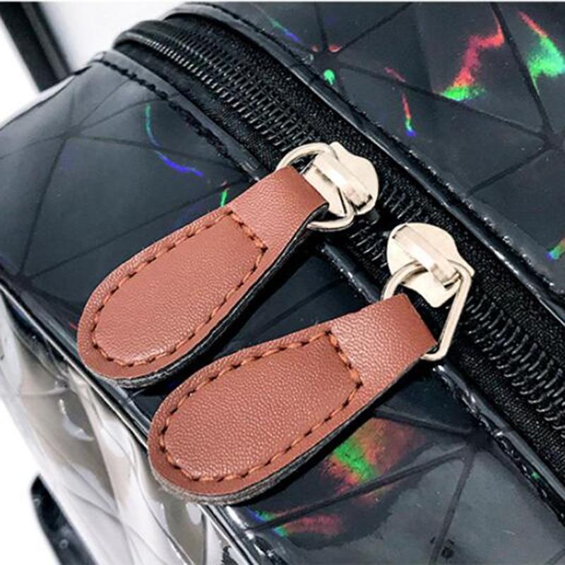 HTB10UA8XojrK1RkHFNRq6ySvpXaV Large Travel Bags Laser Backpack Women Men Girls Bag PU Leather Holographic Backpack School Bags for Teenage Girls fashion bag