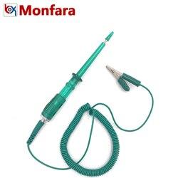 6V 12V 24V LED Car Battery Electric Current CKT Voltage Detector Tester Auto Circuit Board Test Pen 6 12 24 V Volt Meter Pencil