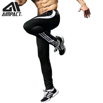 AIMPACT Men's Jogger Pants Sporty Running Gym Long Sweatpants Man With Zipper Pocket Male Active Tracksuit Basketball Pants 1