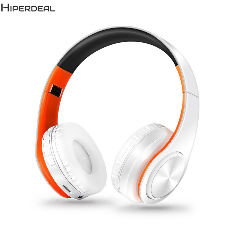 Wireless Cute Headphones For Girls High Quality Bluetooth For Cell Phones Stereo Audio Earphones PC TF Card Headset DE112b ks 509 mp3 player stereo headset headphones w tf card slot fm black