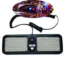 44 Вт 12 В 86 светодиодов Strobe Light 12 режимов чрезвычайных вспышки Предупреждение внимание солнцезащитный экран козырек лампа бар для грузовых вагонов Ван