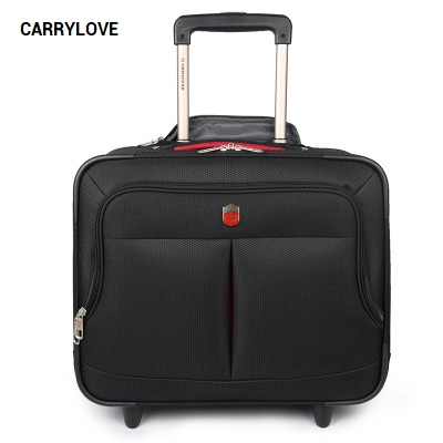все цены на CARRYLOVE Business senior luggage 16 size boarding High-quality Oxford Rolling Luggage Spinner brand Travel Suitcase