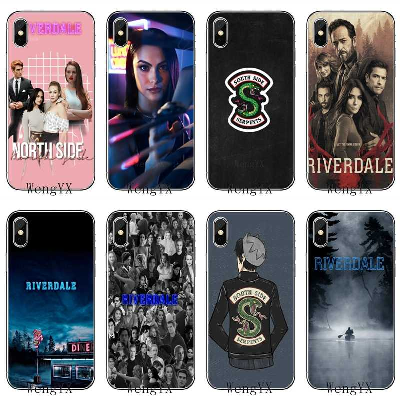 Archie Betty Veronica Riverdale TPU Soft phone cover case For Huawei Honor 4C 5A 5X 5C 6 Play 6X 6A 6C pro 7X 8 9 Lite V8 V10