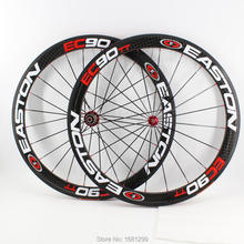 New 700C 50mm Road bike glossy matte 12K full carbon fibre bicycle wheelset carbon clincher tubular rims 23 25mm width Free ship