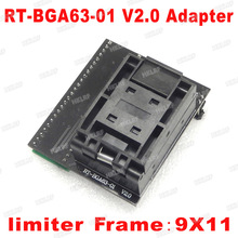 BGA63 RT809H 用ソケット RT BGA63 01 V2.0 0.8 ミリメートル 9 × 11 送料無料