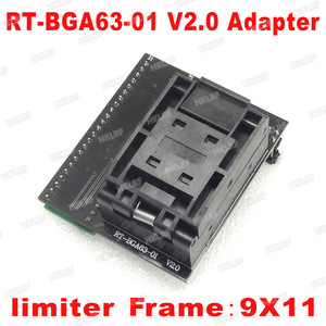 Image 1 - BGA63 adapter for RT809H SOCKET RT BGA63 01 V2.0 0.8MM 9x11 Free Shipping