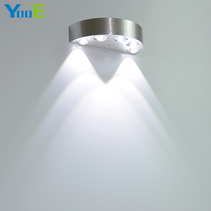 YooE 5W Indoor Wall Lamp AC110V/220V LED Mirror light Decorate Wall Sconce Cold / Warm White Bedroom Reading LED Wall Light