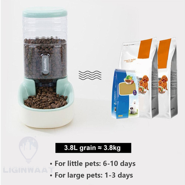 Automatic Pet Feeder - Water Dispenser For Cats & Dogs 3