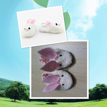 Doll Shoes Bunny Rabbit Slipper Doll Shoes For 18 American Girl Doll Handmade Popular Dolls Accessories