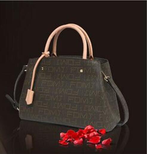 2018 Emarald new Montaigne bag Genuine leather multicolor choice, free normal transportation s t dupont 58 avenue montaigne pour femme