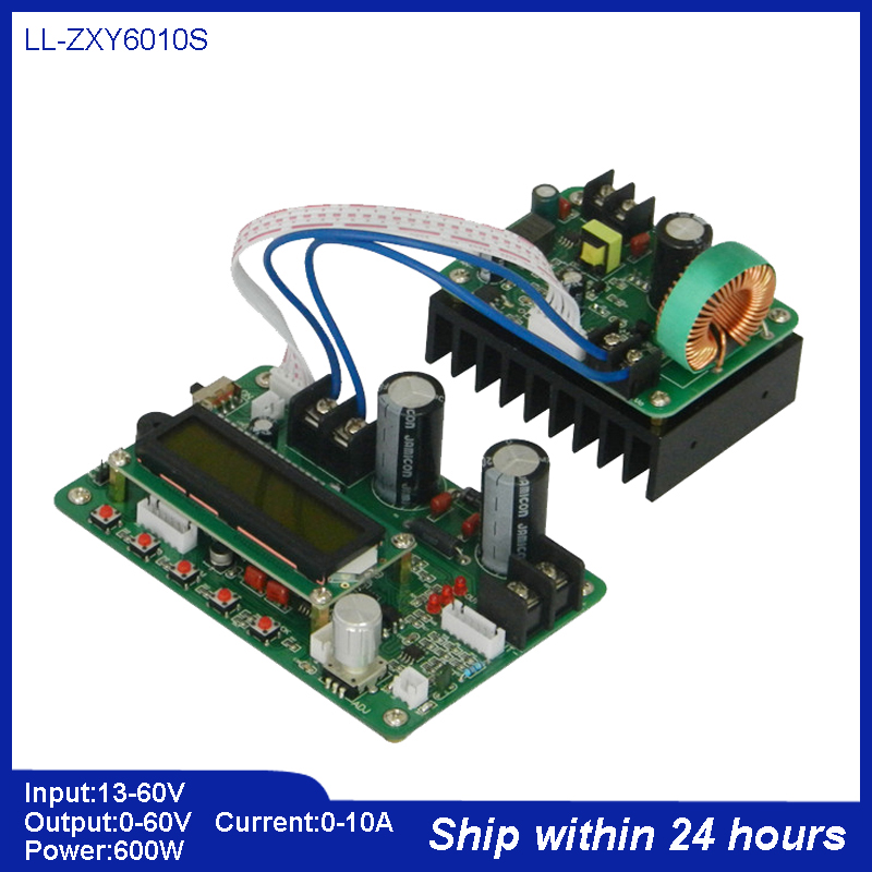 Superpower Programable CNC DC Regulated Power Supply/Voltage Step-down Module with Digital Display/60V 10A 600W DC to DC Supply diy kit dc dc adjustable step down regulated power supply module belt voltmeter ammeter dual display
