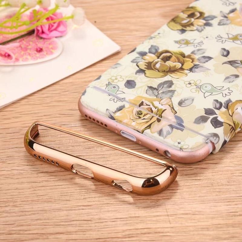 För iphone 7 fodral mode lysande blommig blomma 360 full skydd - Reservdelar och tillbehör för mobiltelefoner - Foto 6