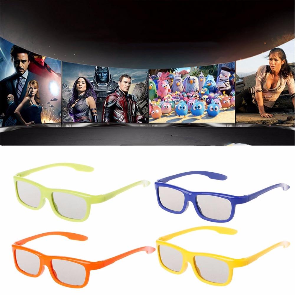 Peacefair Circular Polarized Passive 3D Stereo Glasses