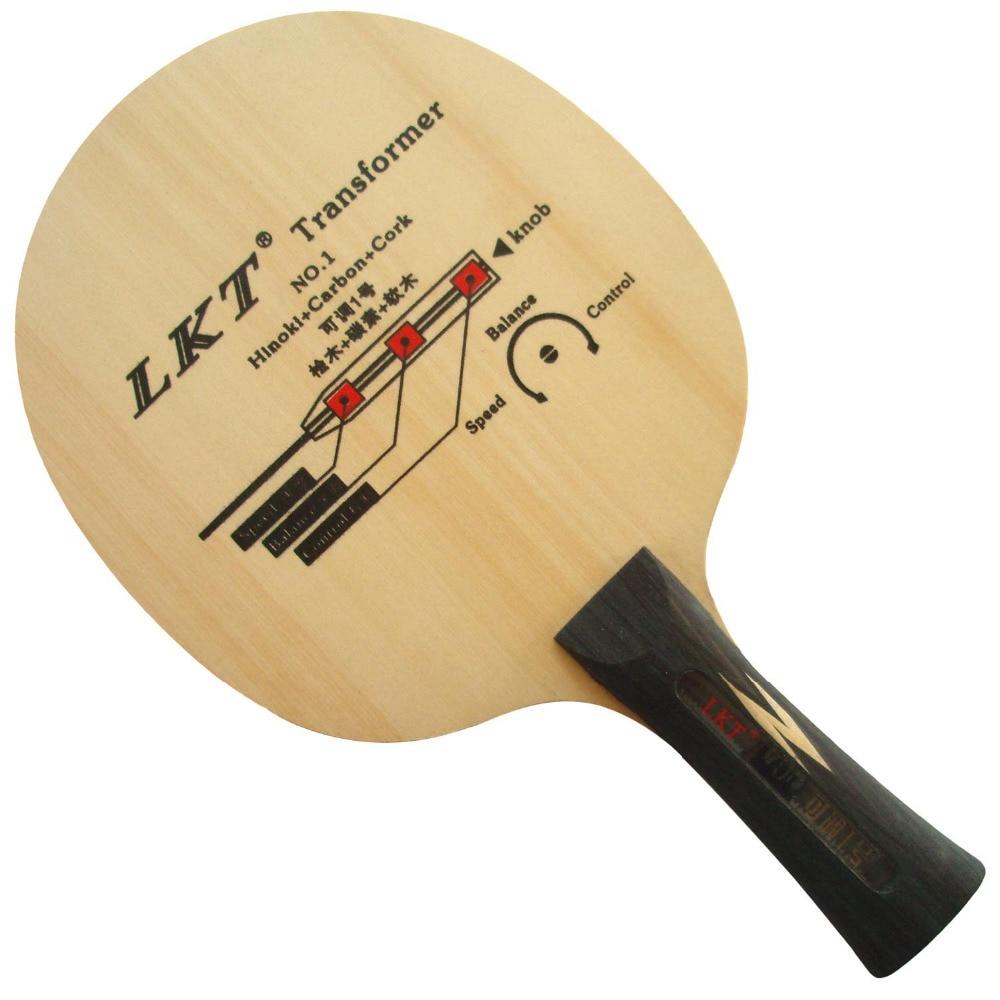 LKT Transformer NO.1 Hinoki+Carbon+Cork Shakehand Table Tennis / PingPong Blade lkt will power l 1007 arylate carbon table tennis blade shakehand for pingpong racket shakehand long handle fl