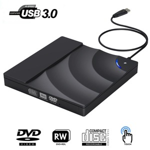External DVD Drive High Speed USB 3.0 CD DVD Drive For Laptop Desktop Portable Slim CD DVD +/-RW Burner Player Writer Rewriter(China)