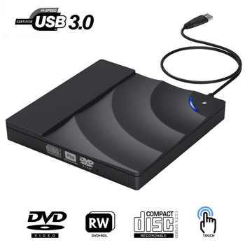 External DVD Drive High Speed USB 3.0 CD DVD Drive For Laptop Desktop Portable Slim CD DVD +/-RW Burner Player Writer Rewriter - DISCOUNT ITEM  28% OFF All Category