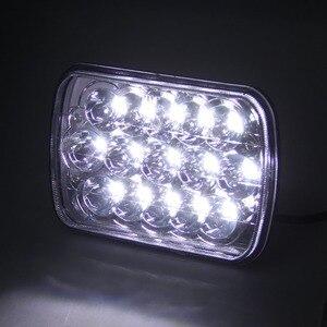 Image 5 - Marloo 1 adet motosiklet 7x6 inç dikdörtgen LED far H6054 H5054 H6054LL 69822 6052 6053 Jeep Cherokee için XJ kamyonlar (5x7)