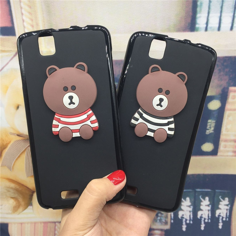 3D Soft Silicone Phone Case Cover for Fly IQ4503 ERA Life 6 Quad Original Cute Back Covers Cartoon Cases Capa Funda Coque Shell