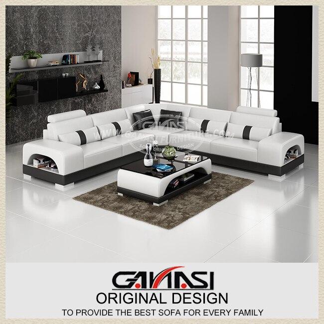 Sofá de la esquina GANASI cama, moderno sofá muebles juego de sala ...