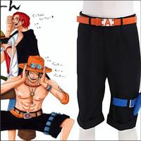 One Piece Fire Fist AI Si Anime Cos Performance Clothing One Piece AI Si Shorts Halloween
