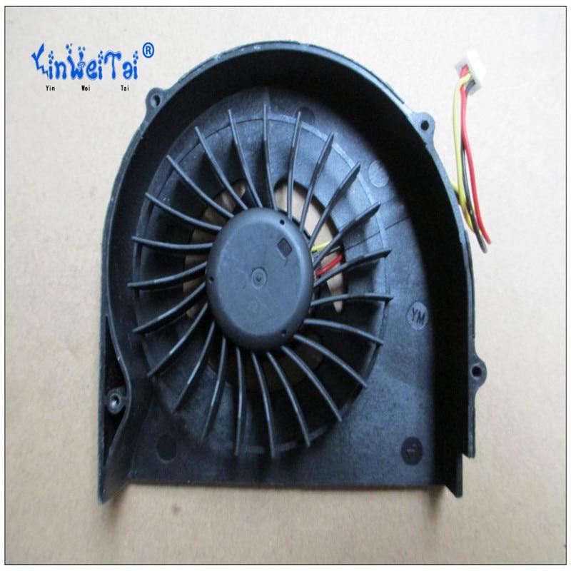 2PCS New CPU Cooling Fan For MSI GX620 GX627 MS-1651 Laptop FAN DFS531105MC0T F7C2