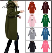 Xnxee Europe and America 2019 autumn and winter women's explosions hooded long-sleeved coat multi-color S-5XL marulong s0002 women s fashionable flower pattern short sleeved nightdress green multi color