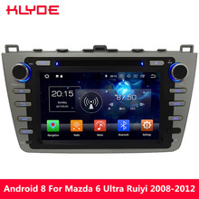 KLYDE 8″ Octa Core PX5 4G Android 8.0 7.1 6.0 4GB RAM 32GB ROM Car DVD Multimedia Player Radio For Mazda 6 Ultra Ruiyi 2008-2012