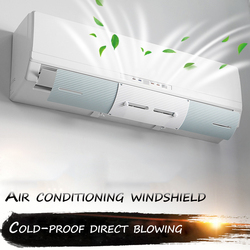 Regulowany pokrywa klimatyzatora przedniej szyby klimatyzacja osłony we Anti-osłona przeciwwiatrowa