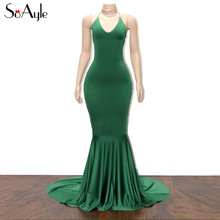 Buy green satin halter prom dress and get free shipping on AliExpress.com 80d95c9f46b8