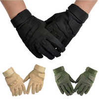 Guantes de trabajo militares de dedo completo para deportes al aire libre tácticos Airsoft caza de equitación guantes de mano de seguridad eldiven guantes handschoenen