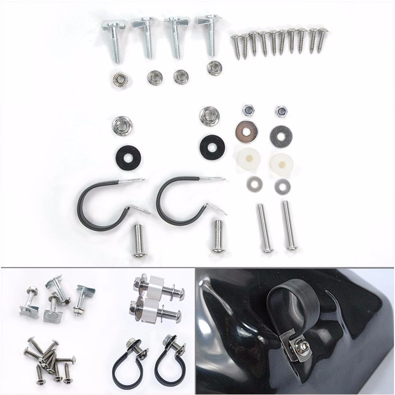 ФОТО Lower Vented Leg Fairings Bolts Kits for Assembly Mounting Hardware Harley OEM Replacement